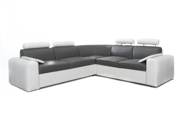 ANGELO XL veľká sedacia súprava v modernom štýle s rozkladacou funkciou a úložným priestorom