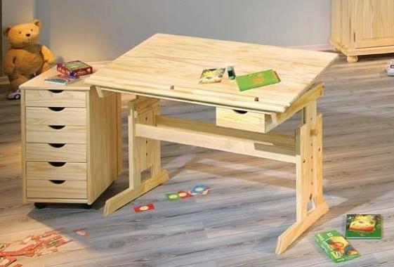 JULIUS dětský rostoucí psací stůl