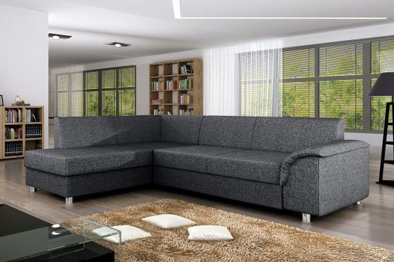 TOBIAS elegantní rozkládací sedací souprava s úložným prostorem
