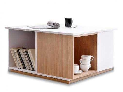 EVADO 13 konferenční stolek ve skandinávském stylu s úložným prostorem