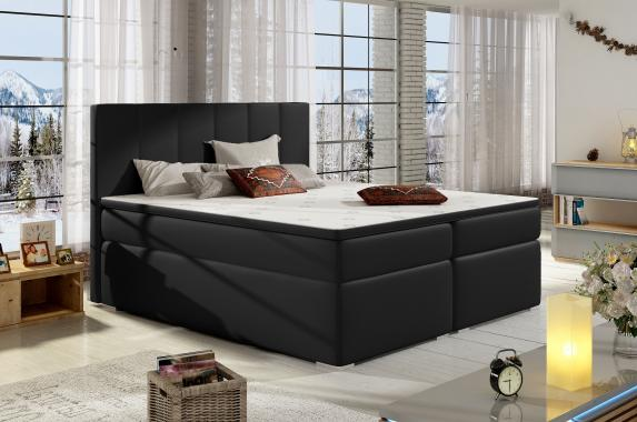 BOLERO 140x200 boxspring posteľ s úložným priestorom
