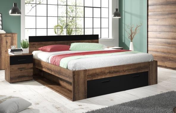 ZUZANA 2 manželská postel s úložným prostorem | 2 rozměry