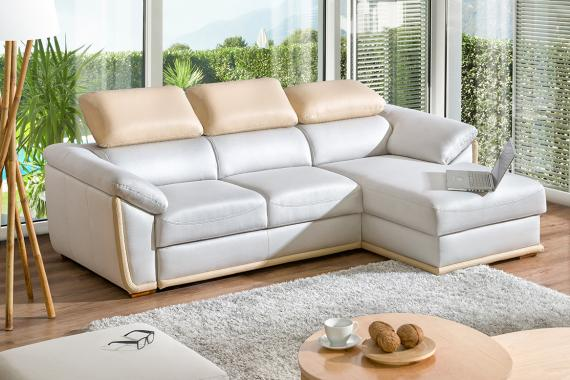 KLEOPATRA luxusní sedačka, možnost objednání v pravé kůži