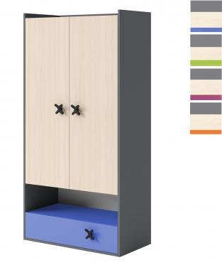 IKS X-03 šatní skříň do dětského pokoje