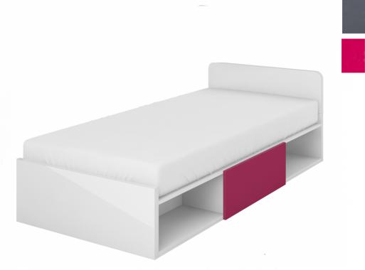 YETI Y-16 detská posteľ s matracom a úložným priestorom | 2 dekory