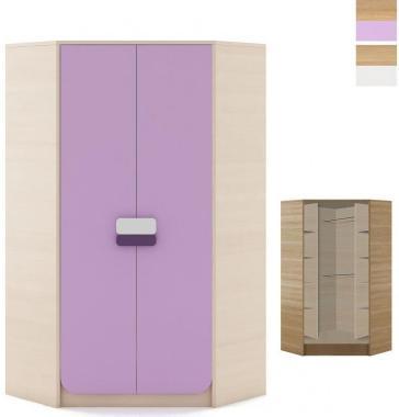 GUSTAVO G-01 velká rohová šatní skříň do dětského pokoje