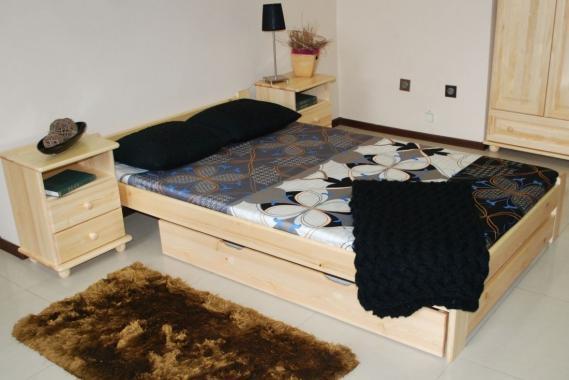 MAREK drevená posteľ z masívneho dreva | 5 rozmerov