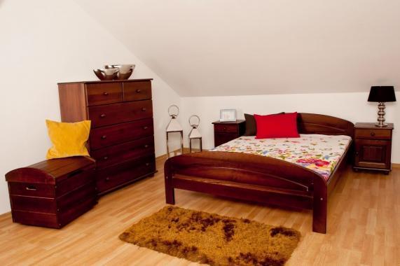 PAVLA dřevěná postel z masivního dřeva | 5 rozměrů