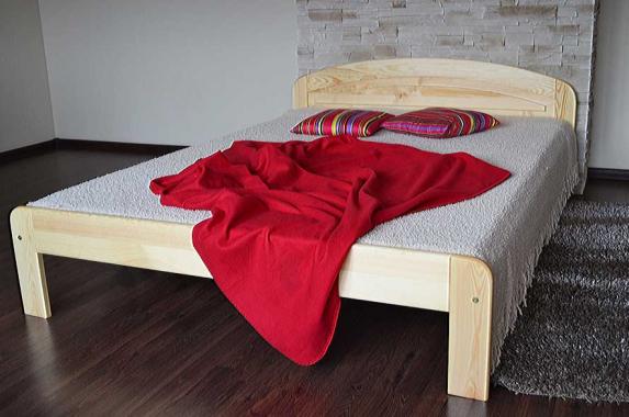 EMANUEL dřevěná postel z masivního dřeva | 5 rozměrů