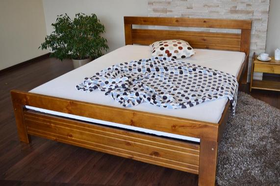 MONIKA dřevěná postel z masivního dřeva | 5 rozměrů