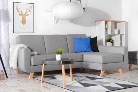 ZARA moderní rozkládací rohová sedačka ve skandinávském stylu