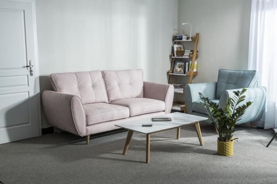COMETE 3 dizajnová pohovka v škandinávskom štýle