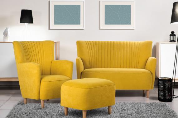 PICCOLO dizajnová sedacia súprava 3+1+taburet