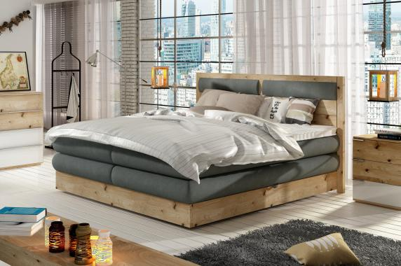 GIORGO kontinentální postel s úložným prostorem | 3 rozměry