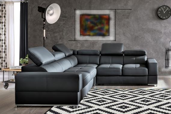 ESTER 3 luxusná modulová sedacia súprava, možnosť pravej kože