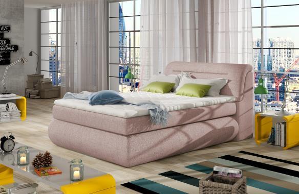SICIL americká postel typu boxspring 120x200