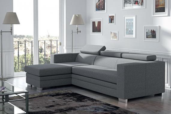 LOGAN rohová sedačka s úložným prostorem pro každodenní spaní