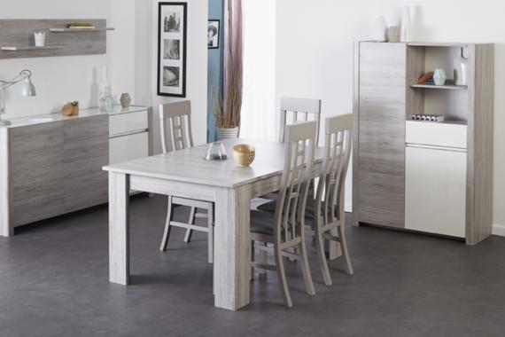 S6/1 rozkládací jídelní stůl | 12 dekorů na výběr
