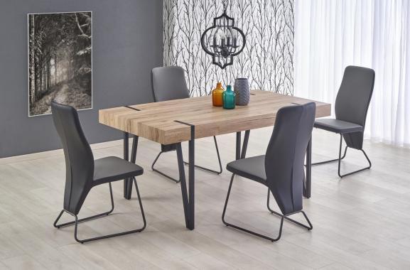 NEBRASKA velký jídelní stůl v industriálním stylu