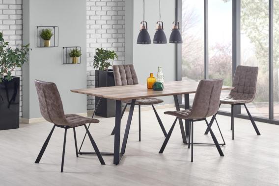 HOUSTON moderní jídelní stůl v industriálním designu