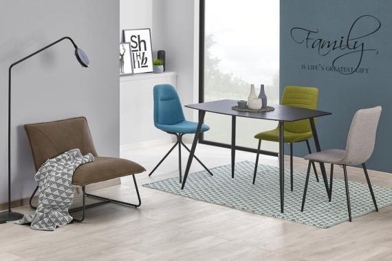 NEUTRON jedálenský stôl v industriálnom štýle