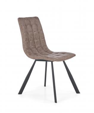 K-280 kožená jedálenská stolička