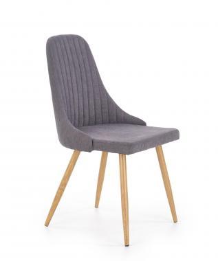 K-285 jedálenská stolička, šedá, béžová