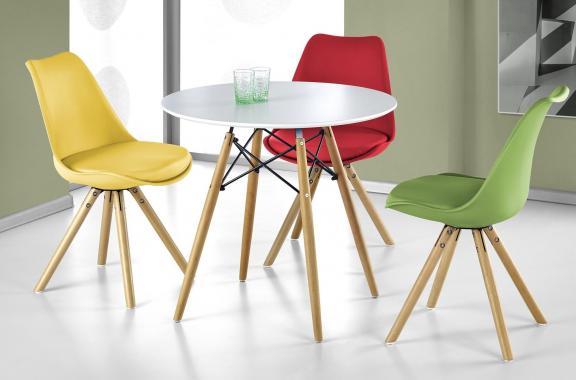 SAUL kulatý jídelní stůl ve skandinávském designu
