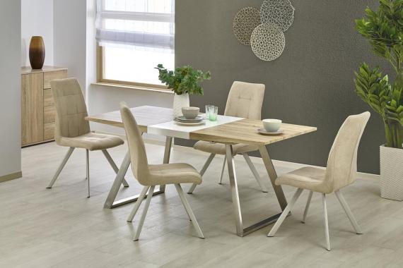 CORK rozkladací jedálenský stôl v dekore dub sonoma
