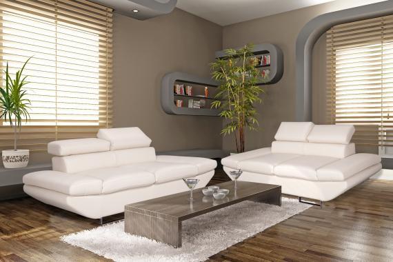LUXOR luxusná dizajnová sedacia súprava 3+2 s polohovacími záhlavníky