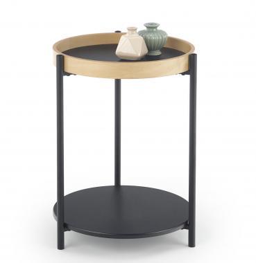 ROLO kulatý konferenční stolek v industriálním stylu