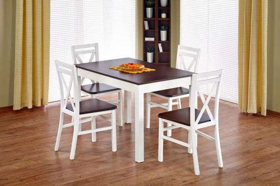 MORIS jídelní sestava | rozkládací jídelní stůl + 4x židle