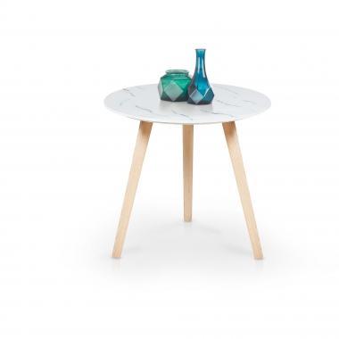 AIDA guľatý konferenčný stolík na troch nohách