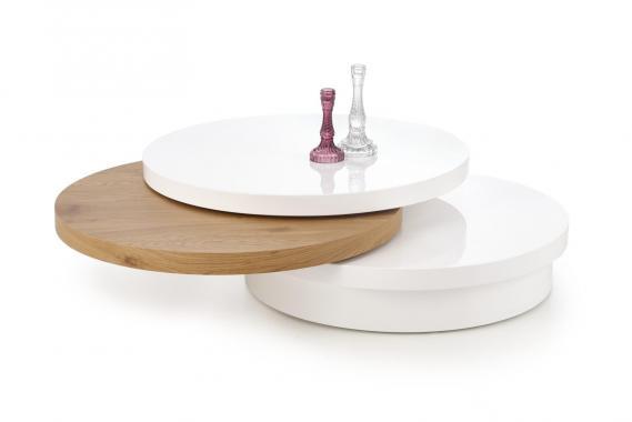MICHELLE guľatý designový konferenčný stolík