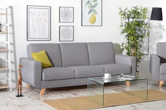 ZARA rozkládací pohovka s úložným prostorem ve skandinávském stylu