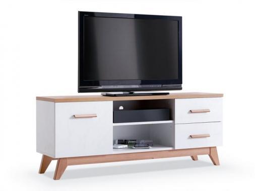 GEORGIA GE5 televizní stolek ve skandinávském stylu