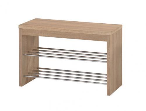 ST-7 dřevěná lavice s botníkem
