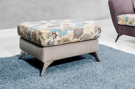 VITTORIO designový taburet ve vintage stylu