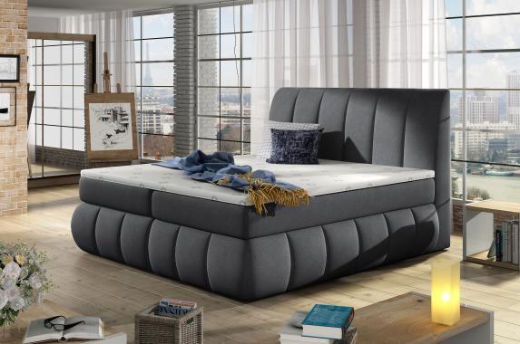 GABRIELA kontinentálna posteľ boxspring s úložným priestorom | 3 rozmery