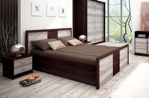 FAMILIA FM31 manželská postel 160x200 cm s úložným prostorem