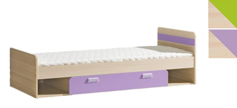 LORENTO L13 detská posteľ s úložným priestorom | 2 dekory