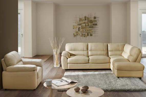 DESIRE 3 rozkládací modulová sedačka v rustikálním stylu