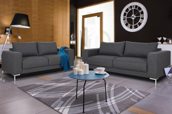 TREK designová sedací souprava 3+2 ve skandinávském stylu
