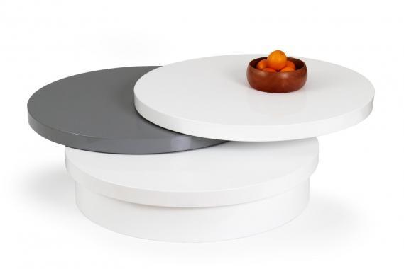 MICHELLE 2 kulatý designový konferenční stolek