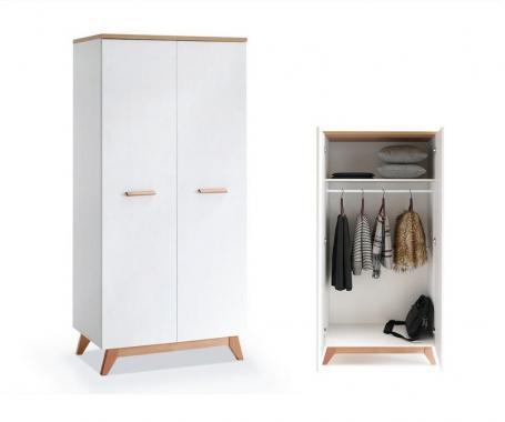 GEORGIA GE1 šatní skříň ve skandinávském designu