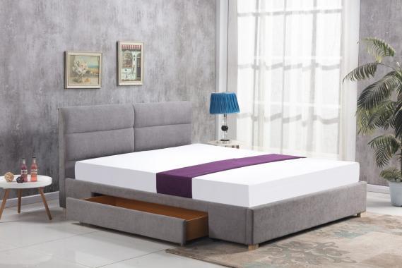 MERIDA čalouněná postel 160x200 cm s roštem | 2 dekory