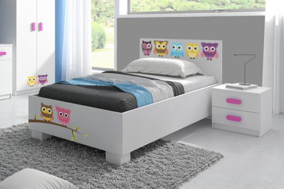 MIKI detská posteľ 90x200