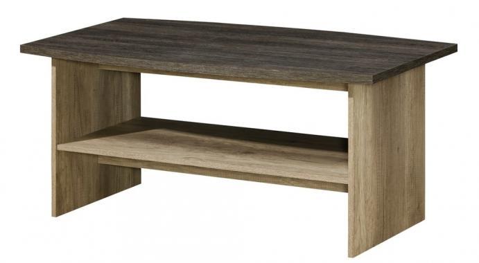 ROMERO R12 konferenční stolek se dvěma patry