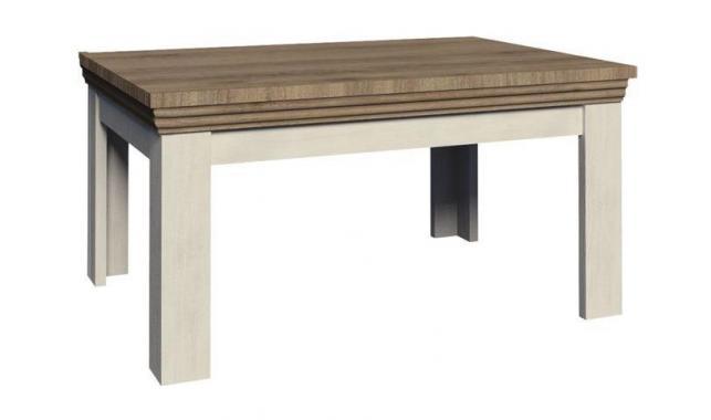 QUEEN obdélnikový konferenční stolek v rustikálním stylu