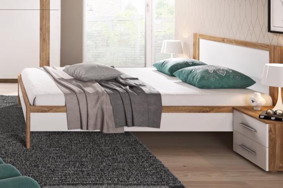 SOPHIE moderní manželská postel s roštem | 2 rozměry